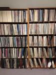 Vinyl collection at Cornish